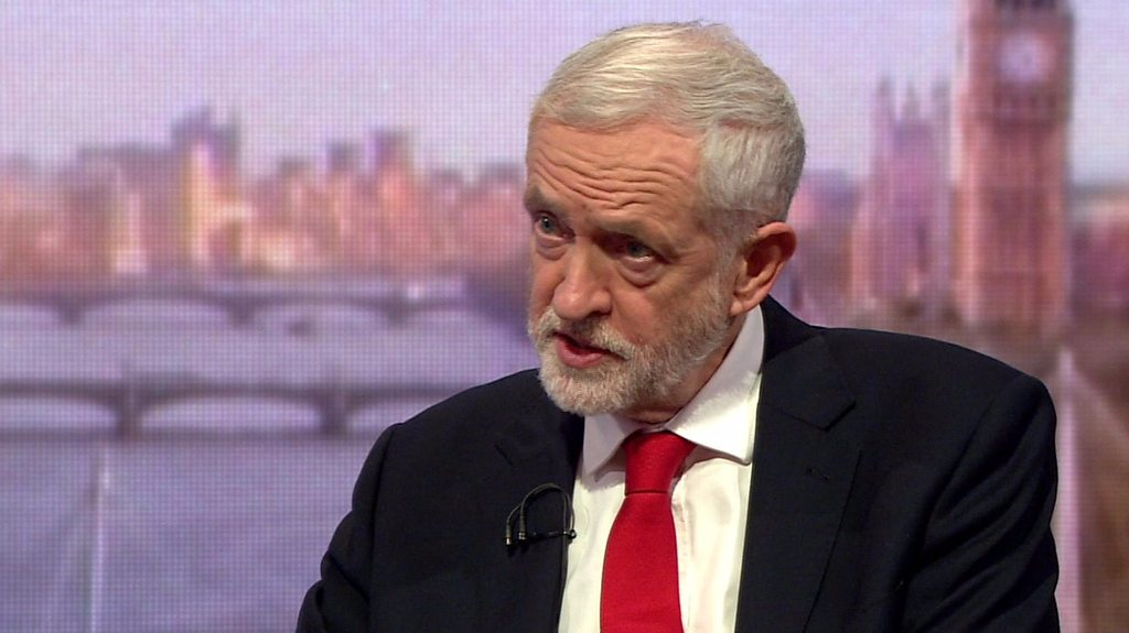 "Jeremy Corbyn on Labour Brexit plans: ""The EU is well known to be flexible"""