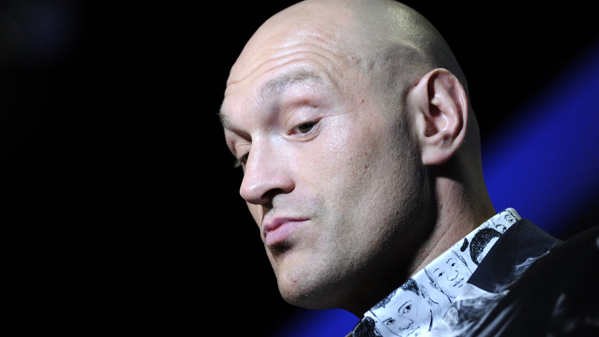 Fury v Schwarz: Briton says he may need to get up off canvas to avoid shock