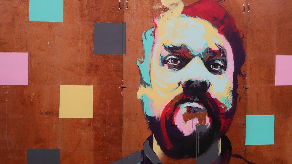 Scott Hutchison mural unveiled in Glasgow