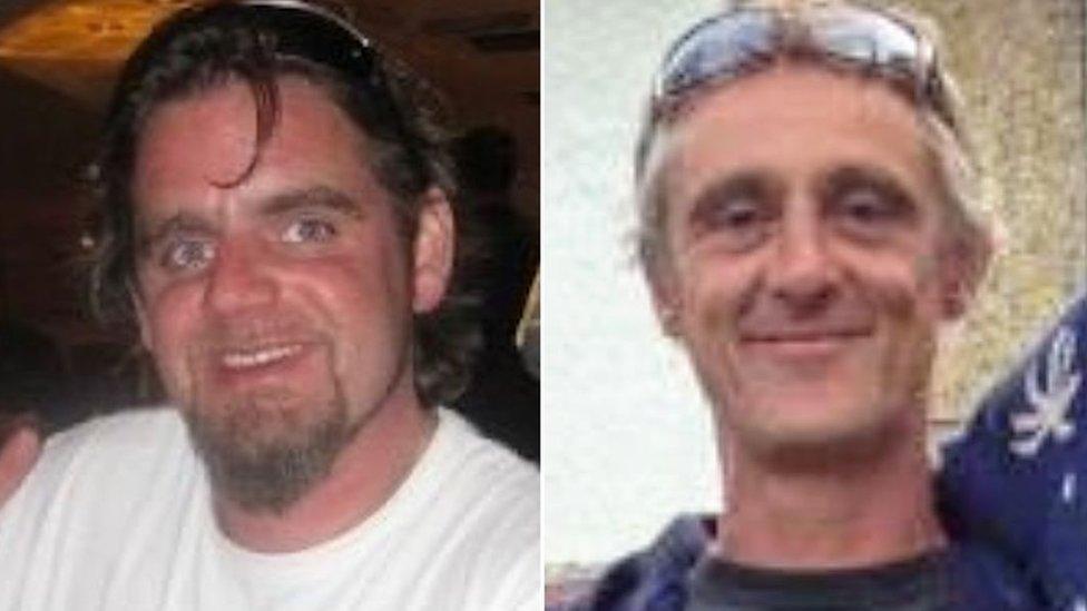 Matthew Stoneley, left, and Harry Garrood