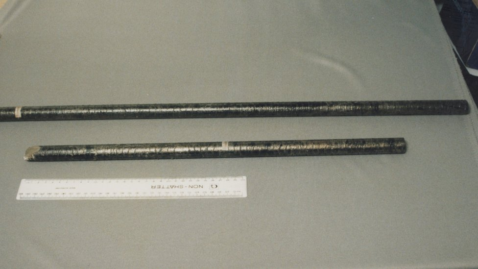 The metal pole used in the Clydach murders