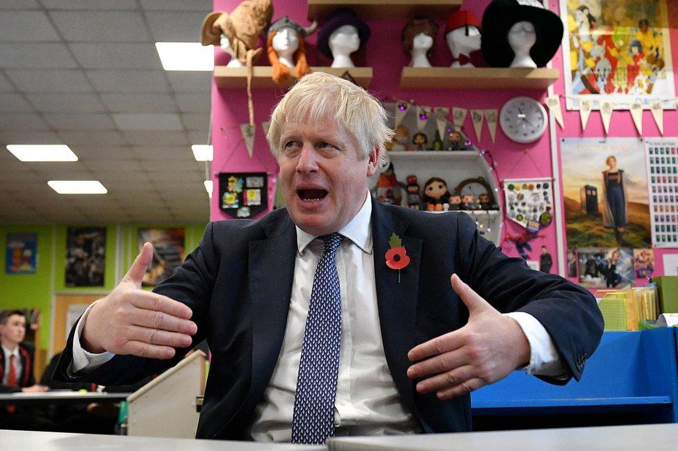 General Election 2019 Boris Johnson Does Not Understand Deal Trade Checks Bbc News