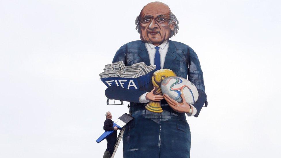 Sepp Blatter guy