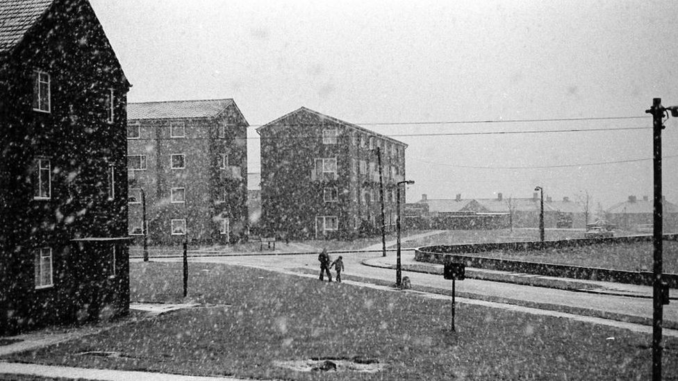 Buttershaw in the snow