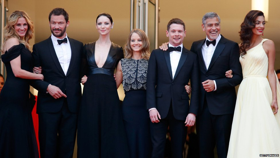 Cast of Money Monster at Cannes
