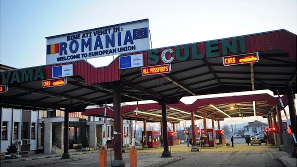 Rumunska granica