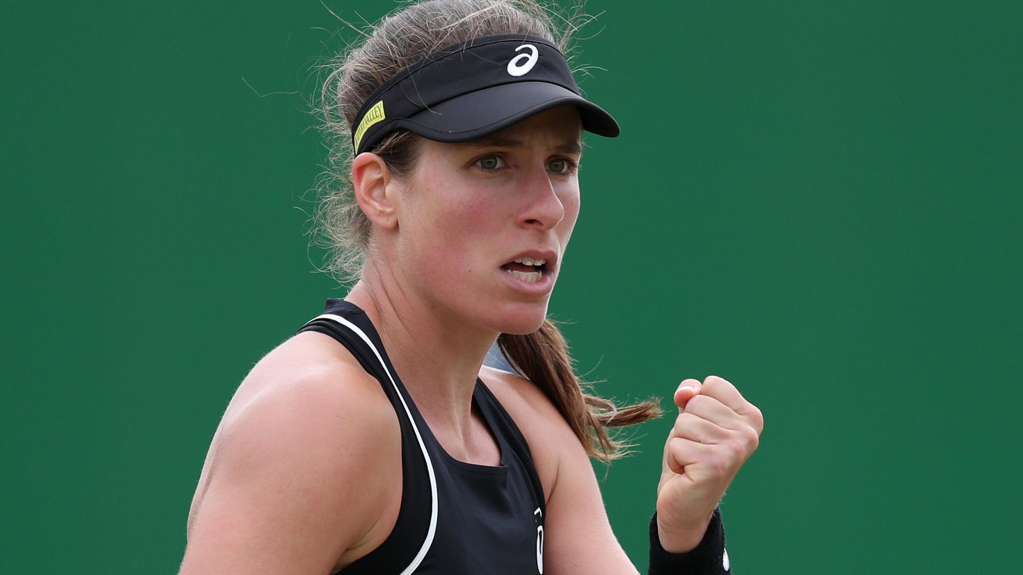Nature Valley Open: Johanna Konta reaches semi-final as Katie Boulter loses