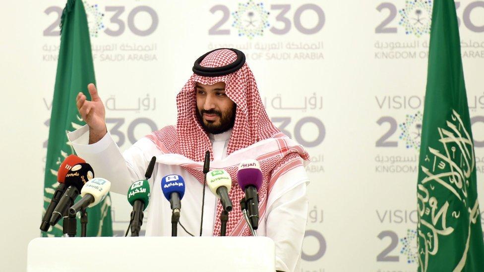 Veliaht Prens Muhammed bin Salman Suudi Arabistan'daki modernleşme planlarının mimarı.