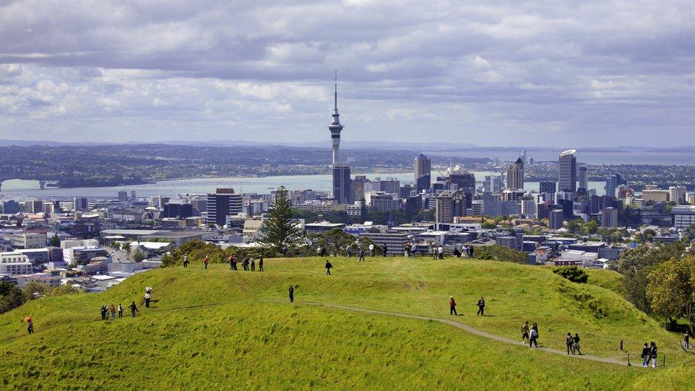 imagem de Auckland