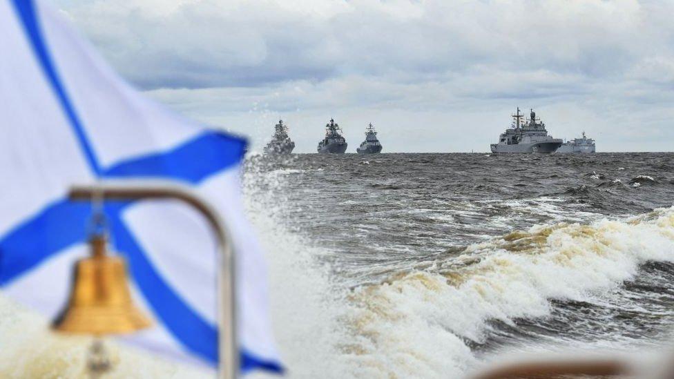 Фото: парад в честь Дня военно-морского флота России