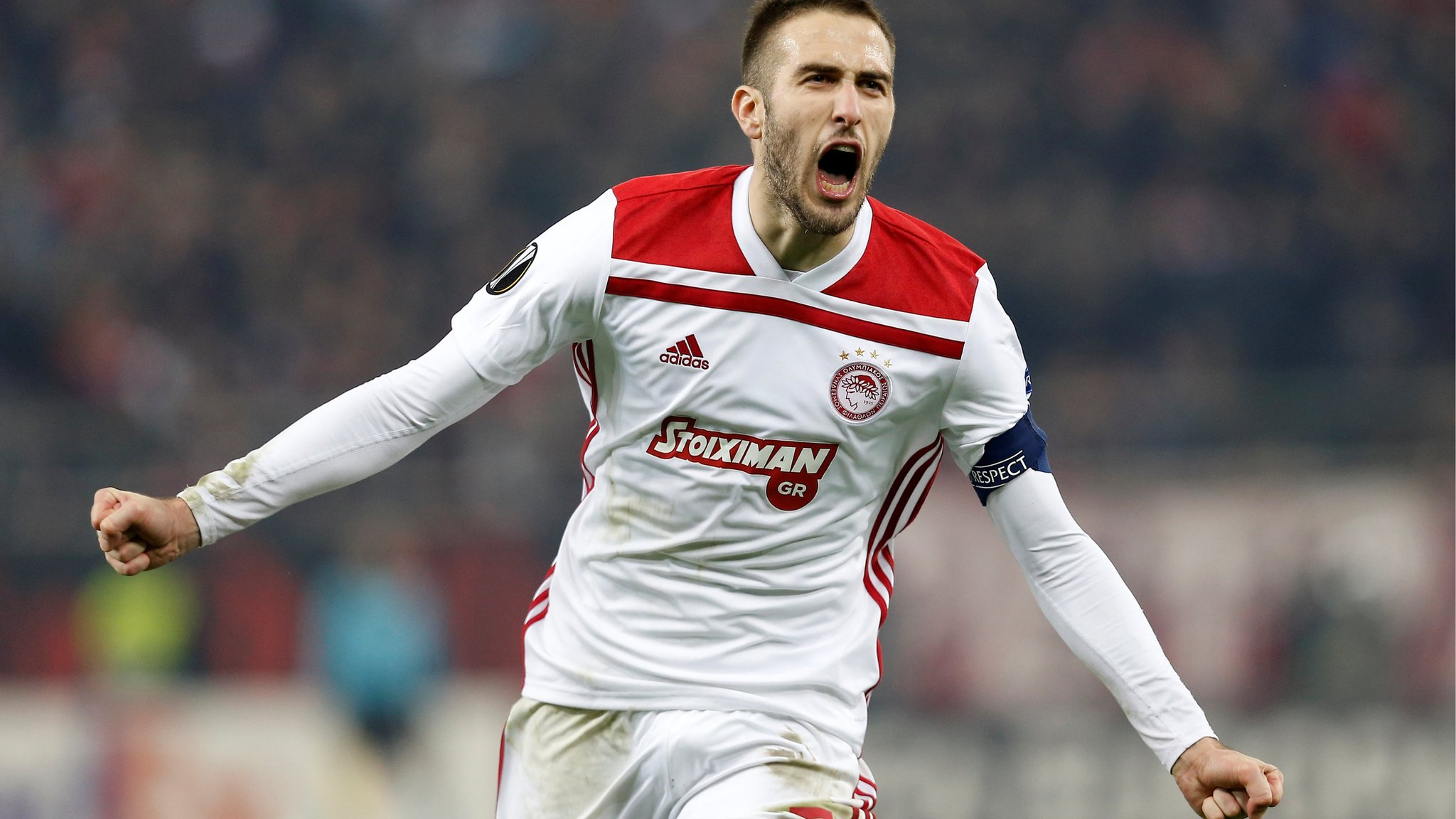 Olympiakos knock out AC Milan in 3-1 Europa League thriller