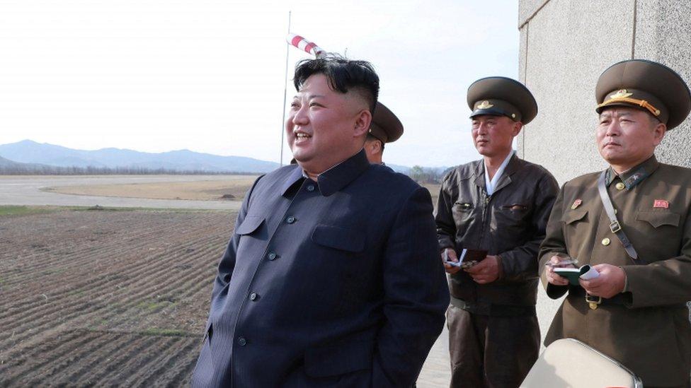 """Corea del Norte realiza un ensayo con una nueva """"arma táctica teledirigida ..."""