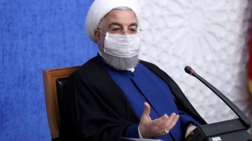 الرئيس الإيراني حسن روحاني قال إن بلاده ستستغل أي فرصة لتخفيف وطأة العقوبات