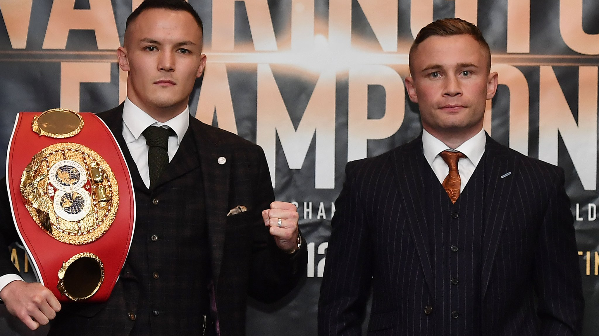 Warrington & Frampton unhappy with pay-per-view clash