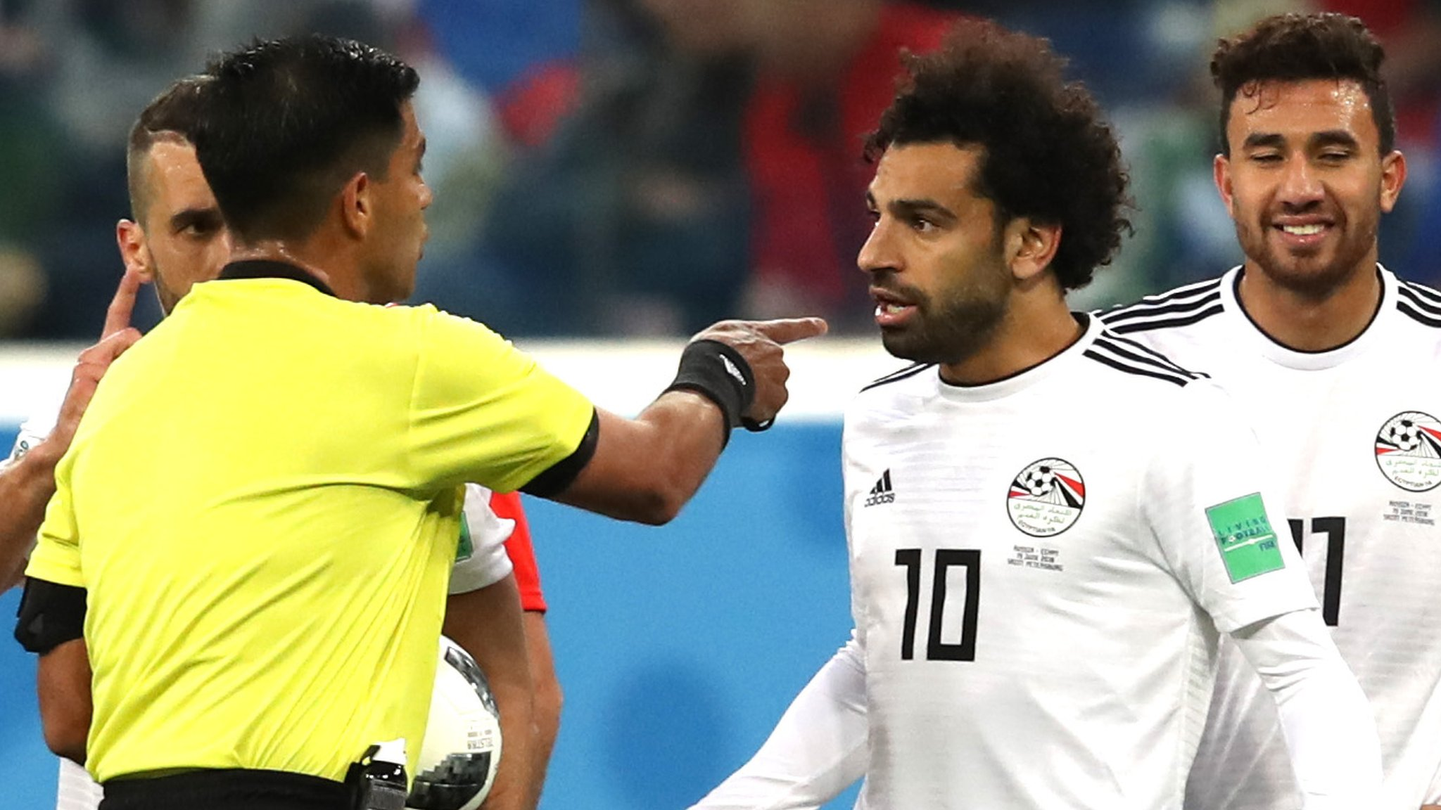 Egypt to make formal complaint about referee