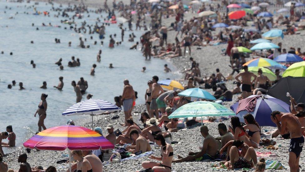 Mar en Niza