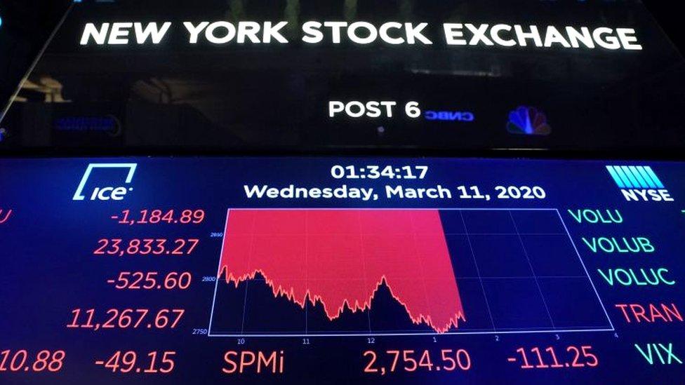 Piazarra en Wall Street