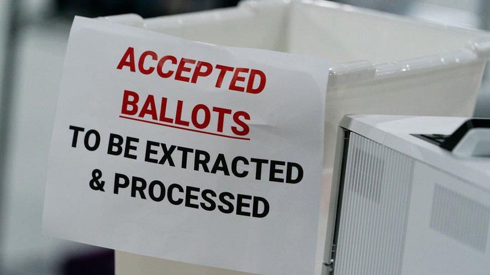 Votos en Lawrenceville, Georgia