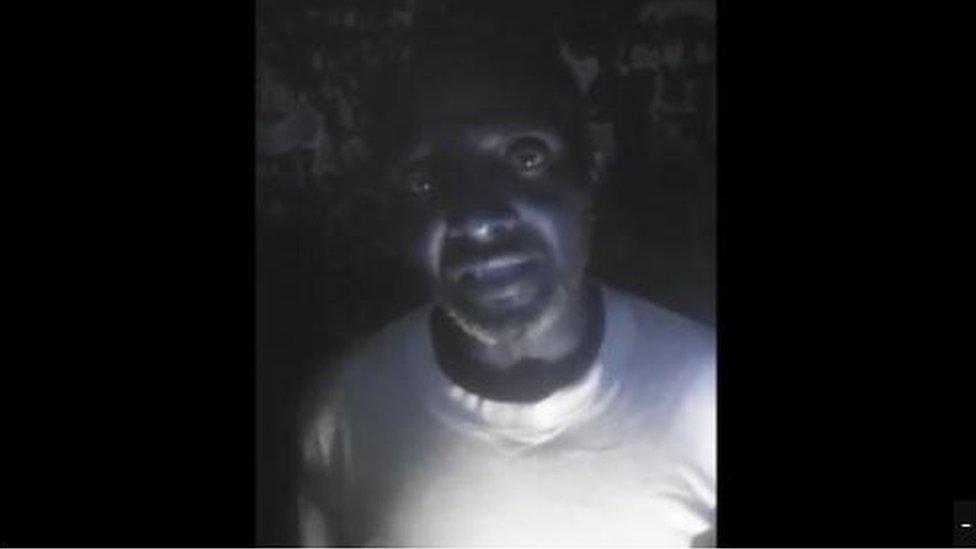 Asaah Patrick Ndangoh in detention