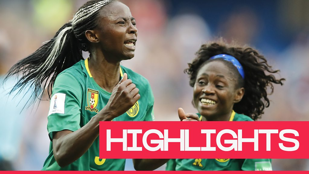 Women's World Cup 2019: Cameroon through after late winner
