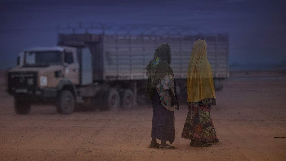 Mujeres migrantes