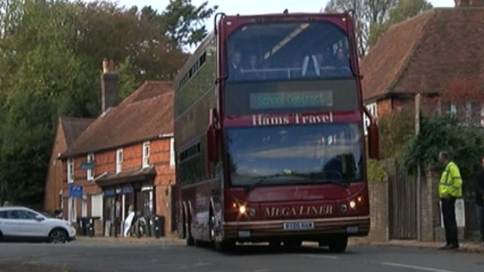 School bus driver suspended after Wadhurst pupils hurt