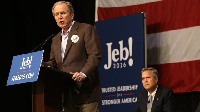 George W Bush, Jeb Bush