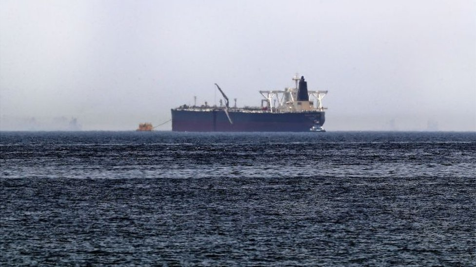 Oil tanker file image