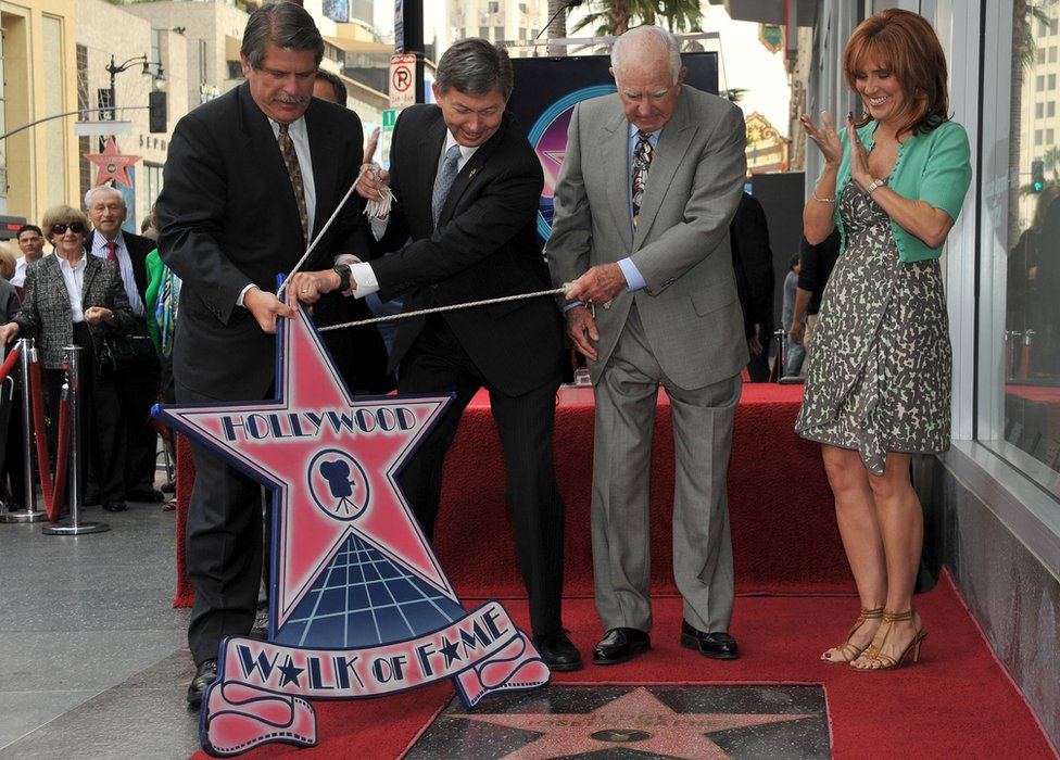Judge Joseph Albert Wapner receives a star on the Hollywood Walk Of Fame on November 12, 2009 in Hollywood, California.