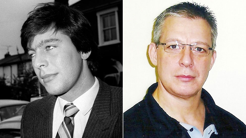 Jeremy Bamber in 1985 and in a later undated photo