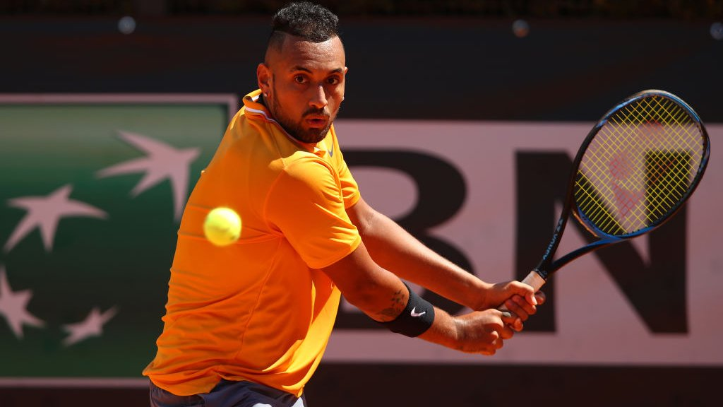 Kyrgios pulls out of French Open with illness