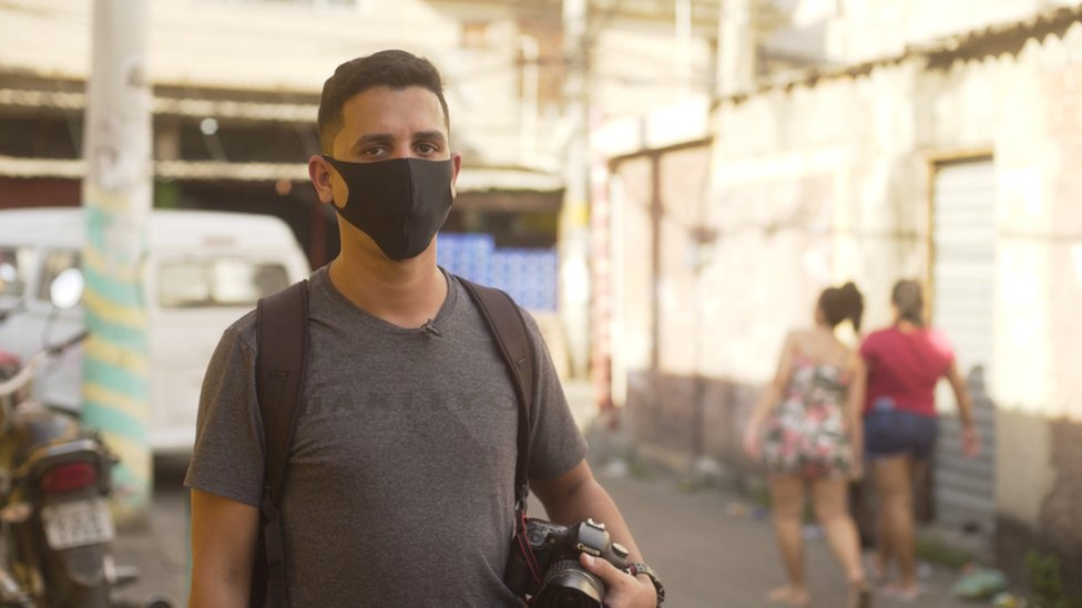 Journalist and photographer Bruno Itan