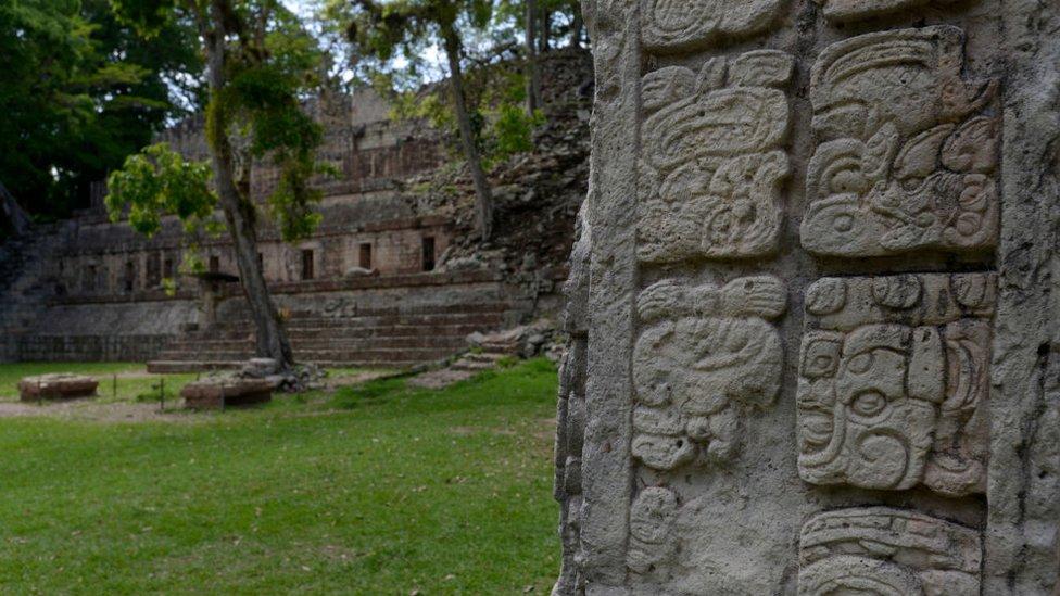 Las ruinas de Copán, en Honduras