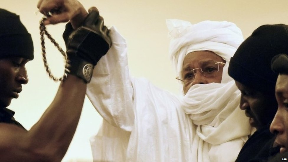 Hissene Habre removed from court