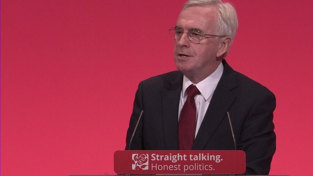 John McDonnell on Bank of England
