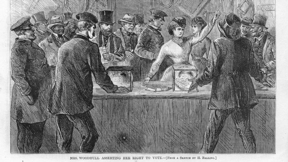 Victoria Woodhull 1870