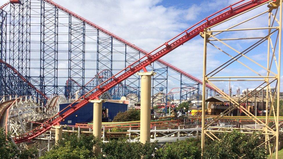Blackpool rollercoaster
