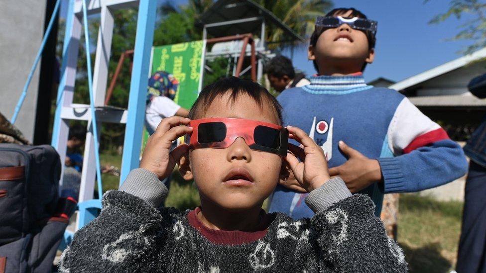 pomračenje sunca mjanmar