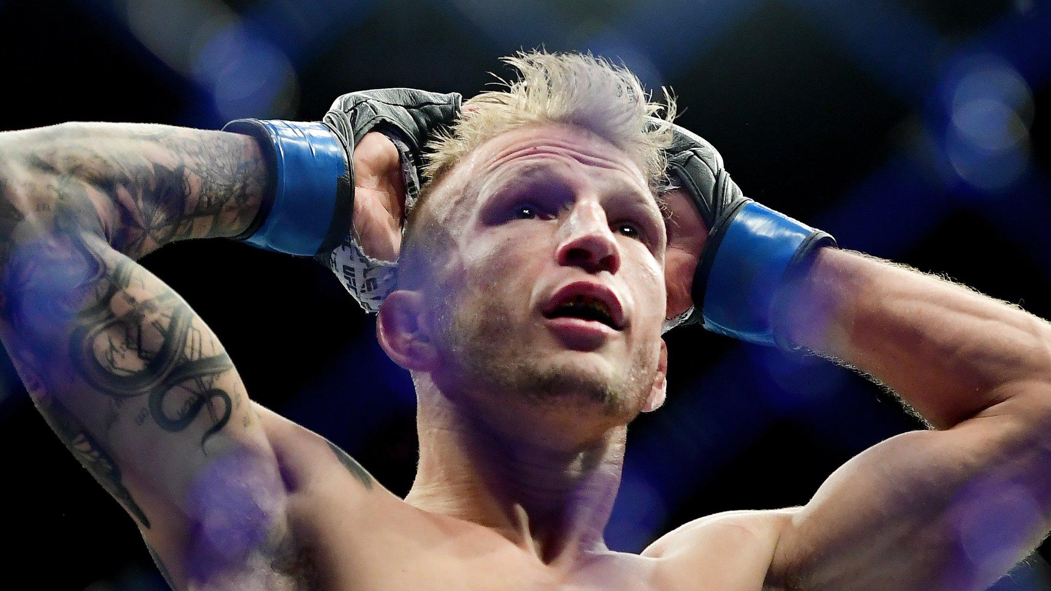 TJ Dillashaw vacates UFC title after failing drug test
