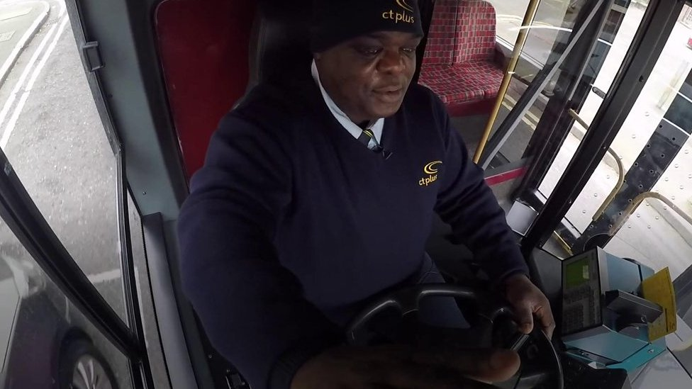 From homelessness to the happiest bus driver in London