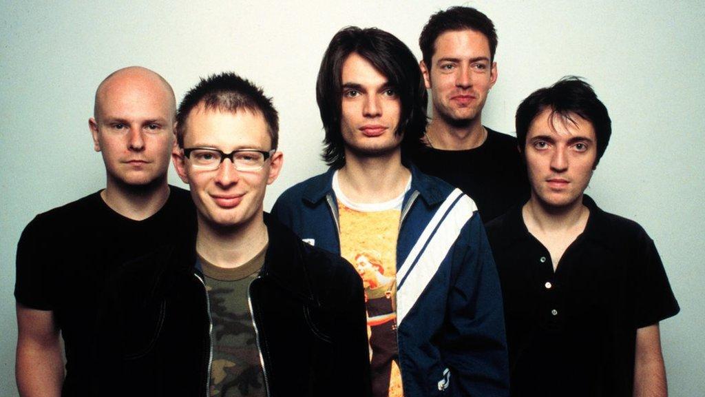 Radiohead in 1997