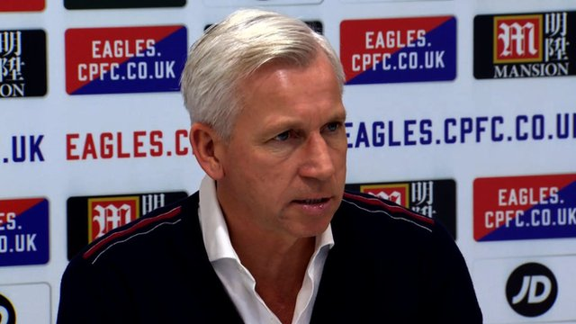 New era for Palace - Pardew