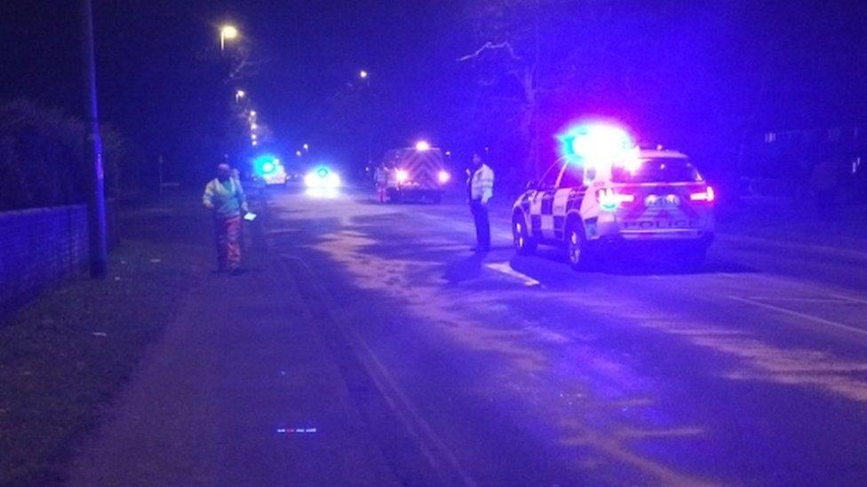 Teenage woman dies in cement mixer crash in Norwich