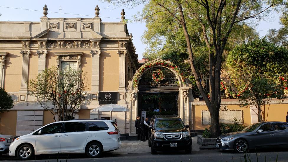 El espectacular edificio del centro cultural Casa Lamm, en Ciudad de México.