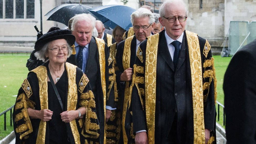 Lady Hale with Lord Reed