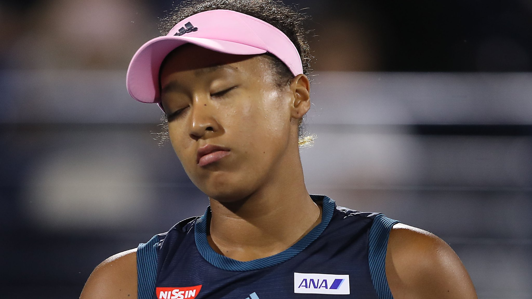 'I feel like people are staring at me' - Osaka blames scrutiny for defeat