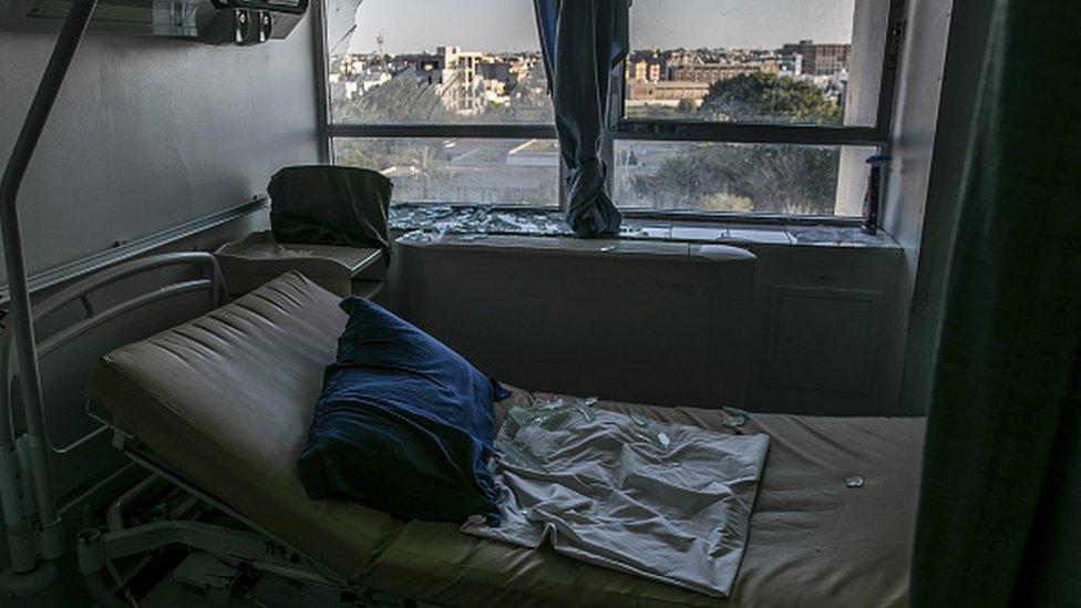 Hafter'e bağlı birlikler, Trablus'ta bir hastaneyi vurdu
