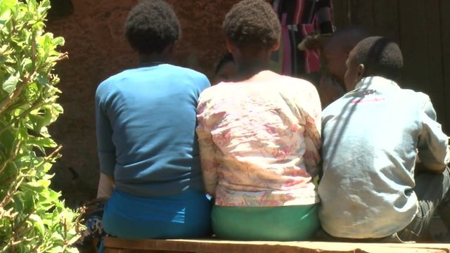 Kenyan domestic workers who have returned home