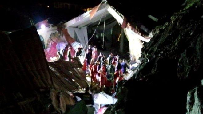 Зсув ґрунту в Перу: загинули 15 гостей весілля