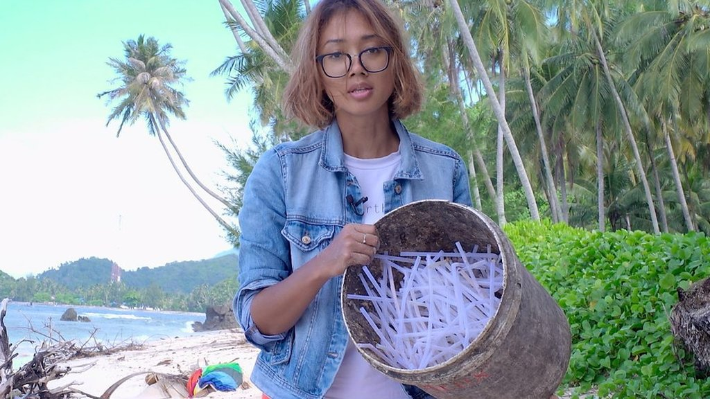 The Indonesian paradise island drowning in plastic